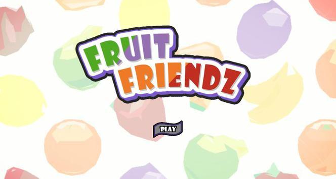 Fruit Friendz Slide Puzzle poster