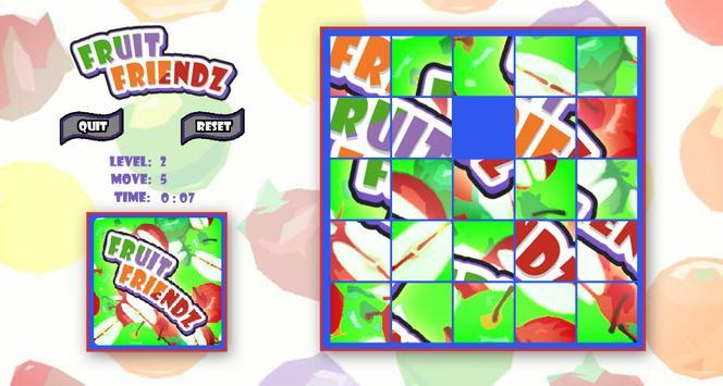Fruit Friendz Slide Puzzle apk screenshot