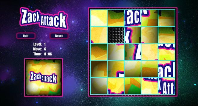 ZackAttack Slide Puzzle apk screenshot