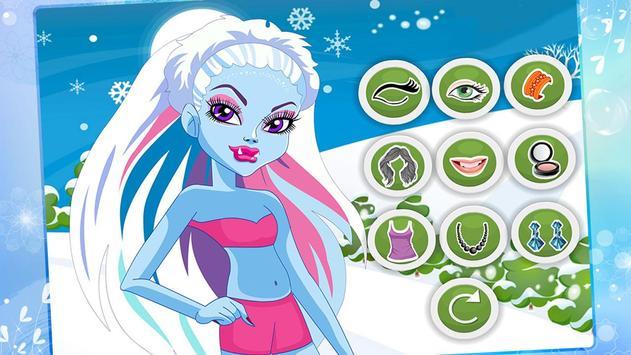 Monster Girl Christmas Dress poster