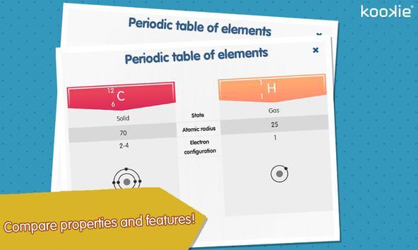 kookie - Periodic table screenshot 6