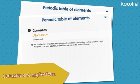 kookie - Periodic table screenshot 7
