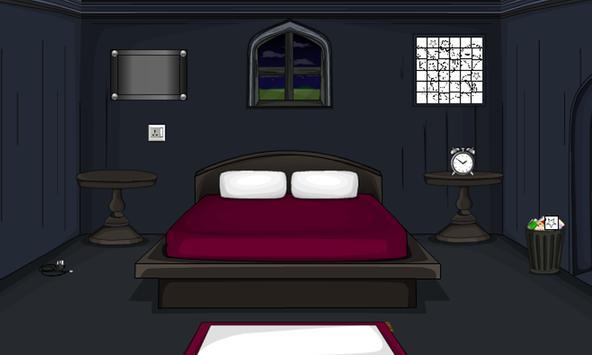 Dazzling Dark Living Room poster