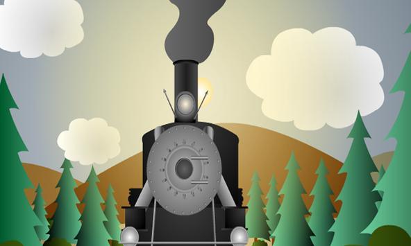 Escape From Adirondack Train poster