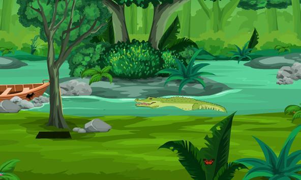Escape From Alligator River poster