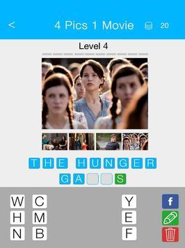4 Pics 1 Movie screenshot 6