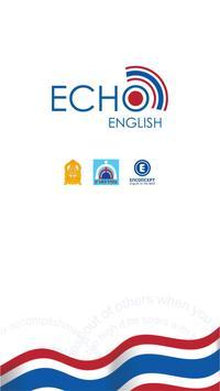 EchoEnglish เรียนภาษาอังกฤษฟรี poster