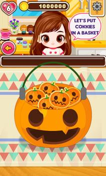 Chef Judy: Halloween Cookies apk screenshot