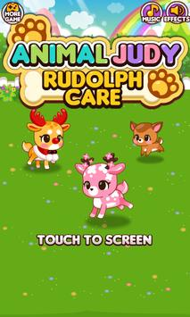 Animal Judy: Rudolph care poster
