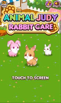 Animal Judy: Rabbit care poster