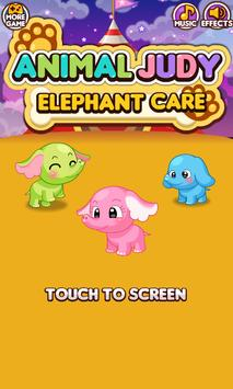 Animal Judy: Elephant care poster
