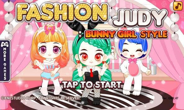Fashion Judy: Bunny Girl Style poster
