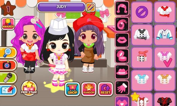 Fashion Judy: Chef style screenshot 1