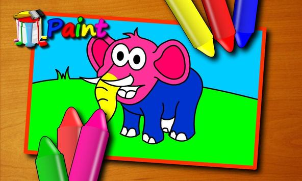 Paint Animals apk screenshot