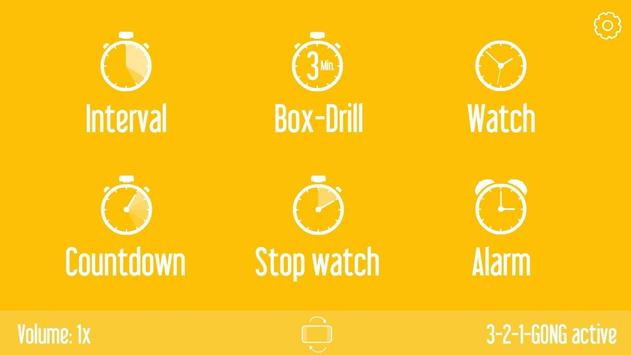Basic Sports Timer: HIIT poster
