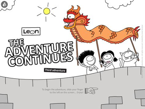 Leon: The Adventure Continues poster
