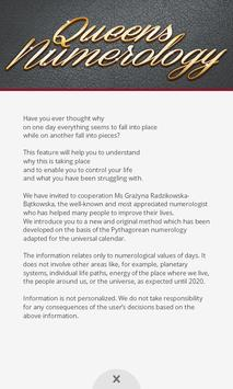Queens Numerology Free screenshot 1