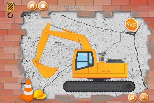 🚚 Excavator Puzzle For Kids screenshot 1