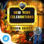 New Year Celebrations Hid Obj icon