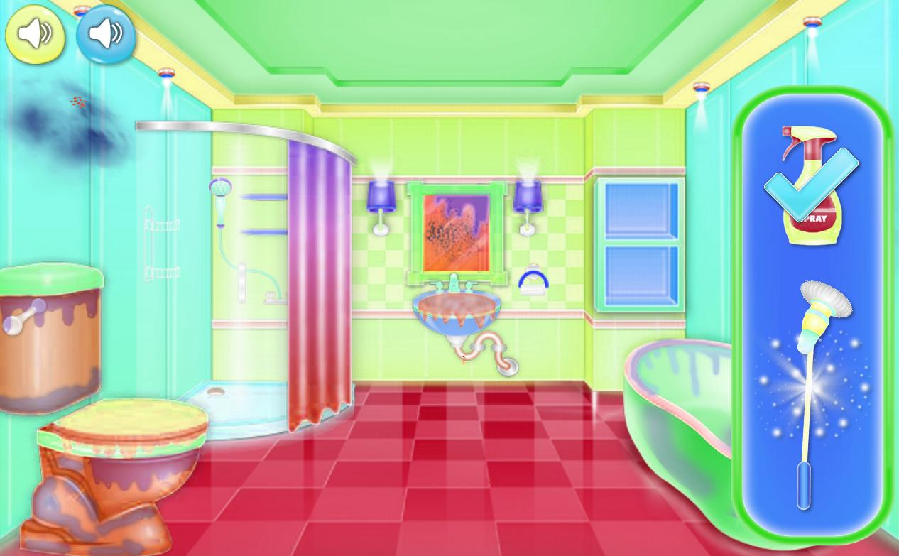 Cleaning Games Bathroom For Girls For Android Apk Download
