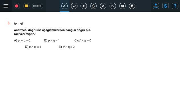 Puan Öğretmen Çözüm Uygulaması screenshot 1