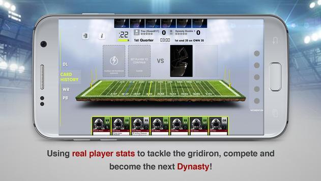 Dynasty Football Card Game screenshot 2