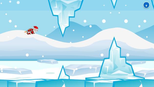 Flappy Santa Christmas Game poster