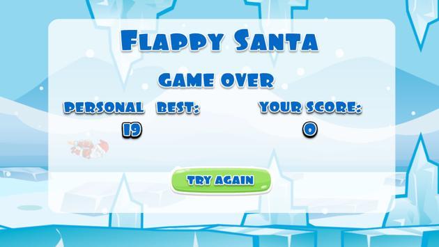 Flappy Santa Christmas Game apk screenshot