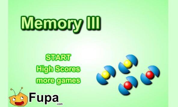 Memory III Free poster
