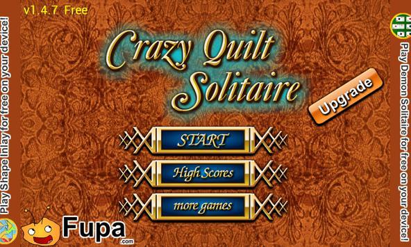 Crazy Quilt Solitaire poster