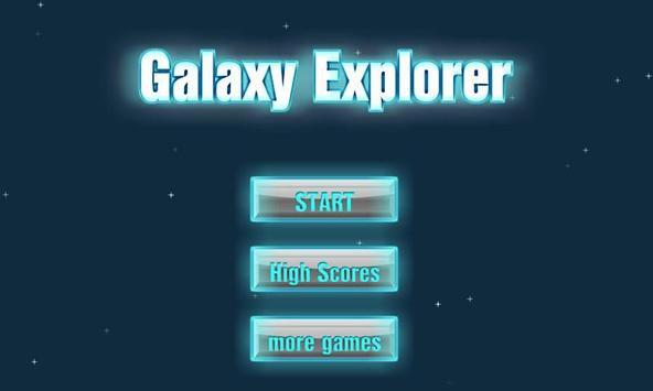 Galaxy Explorer Free poster
