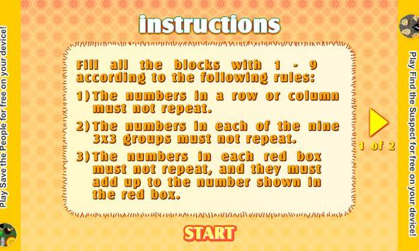 Killer Sudoku screenshot 5