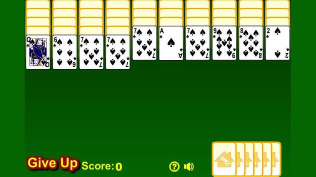Spider Solitaire Free apk screenshot