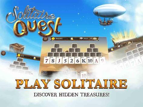 Solitaire Quest apk screenshot