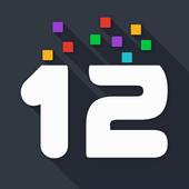 twelve - puzzle game *Free icon