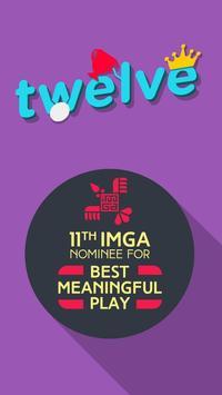 twelve - puzzle game *Free poster