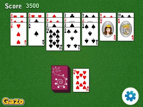 Golf Solitaire Cards apk screenshot