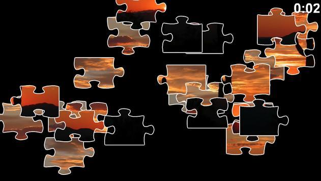 Sunset Jigsaw Puzzle screenshot 1