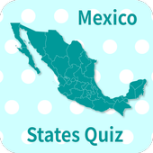 Mexico States & Capitals Map Quiz icon