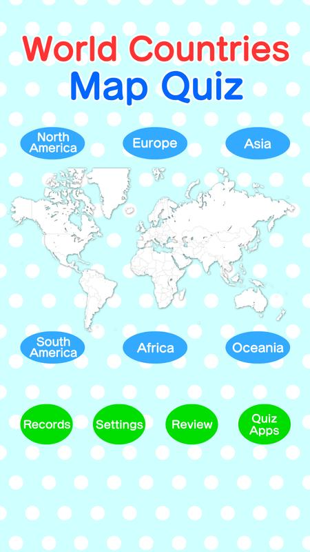 World countries map quiz geography game for android apk download world countries map quiz geography game screenshot 8 gumiabroncs Gallery