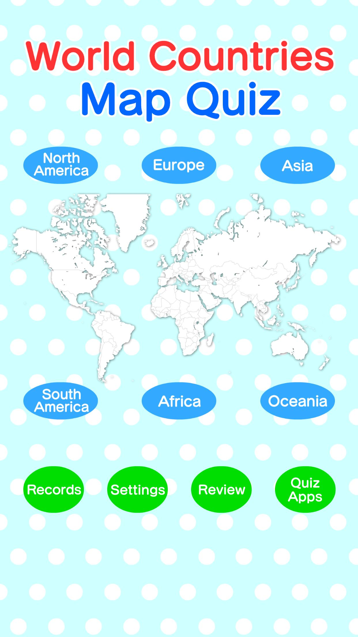 World Countries Map Quiz - Geography Game for Android - APK ...