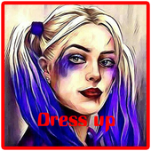 Punk Girl's dress up game icon