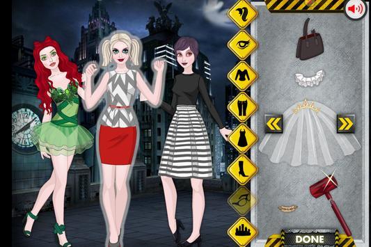 Punk Girl's dress up game apk screenshot