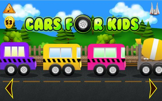 Cars For Kids Free poster
