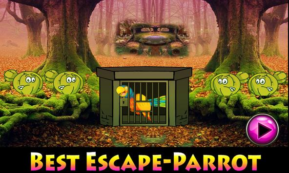Best Escape Games-Parrot poster