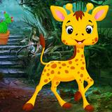 Cute Giraffe Rescue Best Escape Game-350