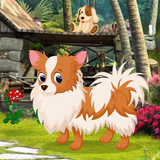 Cute Puppy Rescue Best Escape Game-377