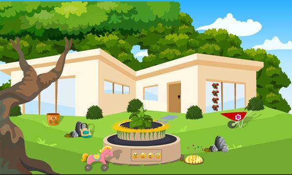Princess Rescue From Garden House Kavi Escape -329 screenshot 2