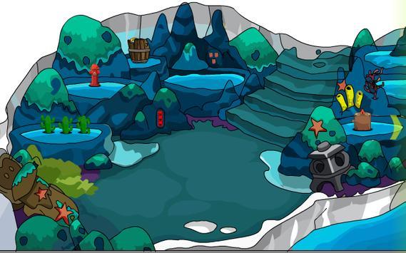 Snowy Rabbit Escape screenshot 1