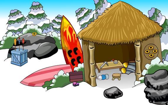 Snowy Rabbit Escape screenshot 2